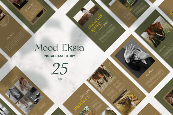 Download Free Mood Eksta Instagram Story Graphic By Qohhaarqhaz Creative Fabrica SVG Cut Files