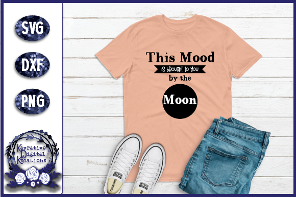 Download Free Mood By Moon Full Moon Graphic By Kayla Griffin Creative Fabrica for Cricut Explore, Silhouette and other cutting machines.