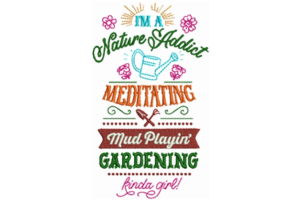 Download Free Nature Addict Creative Fabrica for Cricut Explore, Silhouette and other cutting machines.