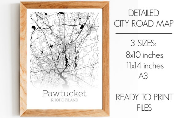 Download Free Pawtucket Rhode Island City Map Graphic By Svgexpress Creative for Cricut Explore, Silhouette and other cutting machines.