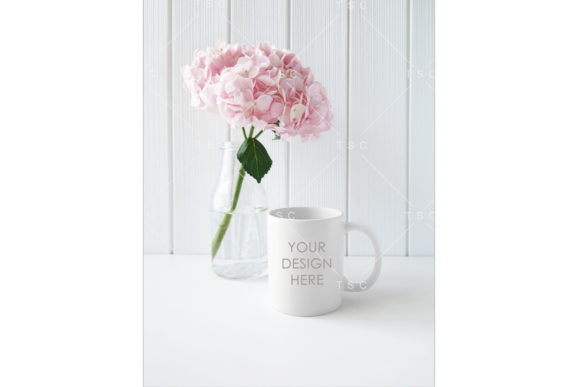 Download Free Portrait Mode White Mug Mockup Graphic By Thesundaychic for Cricut Explore, Silhouette and other cutting machines.