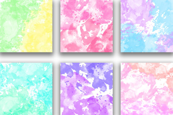 Download Free Rainbow Watercolor Background Texture Graphic By Pinkpearly for Cricut Explore, Silhouette and other cutting machines.