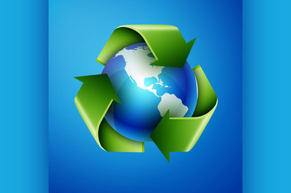 Download Free Recycling Earth Graphic By Netkov1 Creative Fabrica SVG Cut Files
