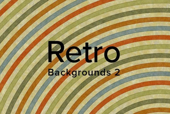 Retro Backgrounds 2 Graphic Backgrounds By dotstudio