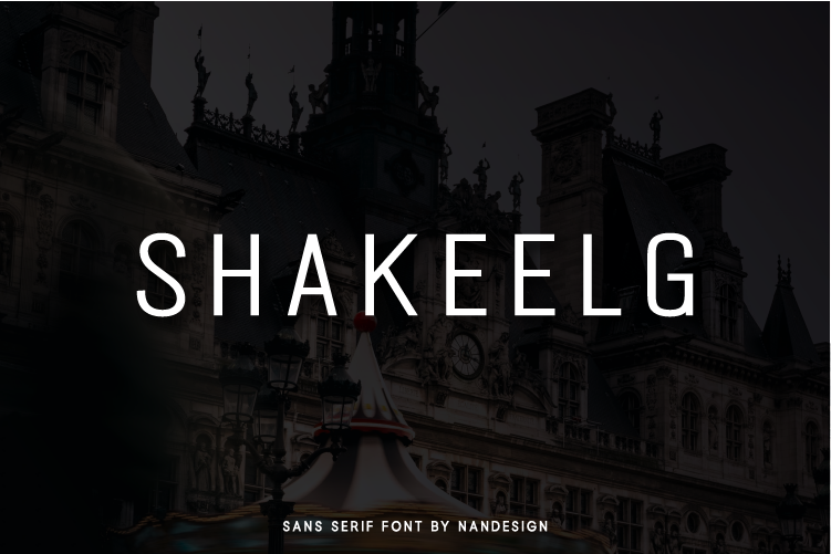 Download Free Shakeelg Font By Nan Design Creative Fabrica for Cricut Explore, Silhouette and other cutting machines.
