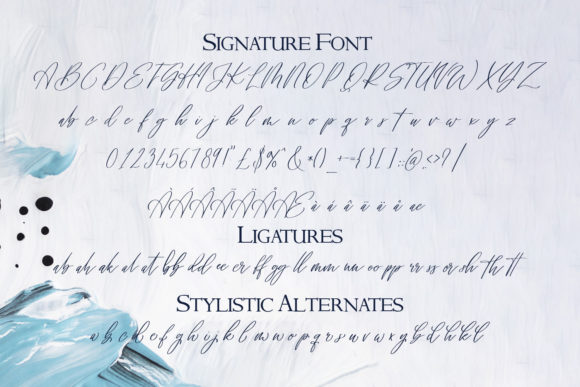 Download Free Signature Archive Font By Freelingdesignhouse Creative Fabrica for Cricut Explore, Silhouette and other cutting machines.