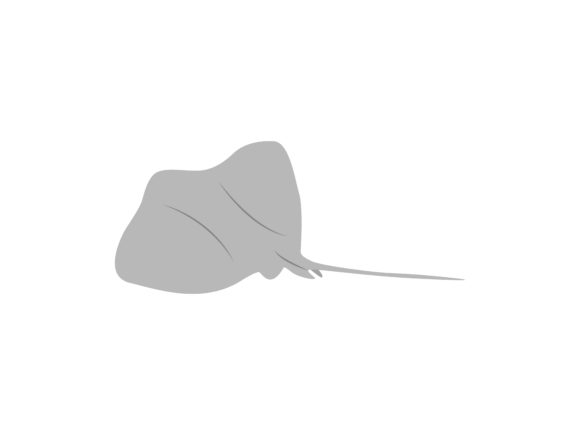 Download Free Stingray Fish Animal Graphic By Archshape Creative Fabrica for Cricut Explore, Silhouette and other cutting machines.
