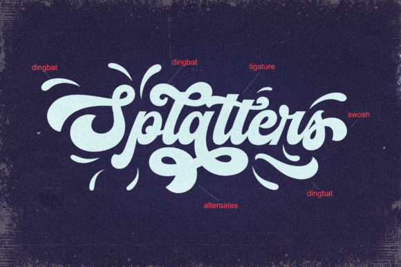 Print on Demand: The Vignettic Script & Handwritten Font By AllmoStudio - Image 2