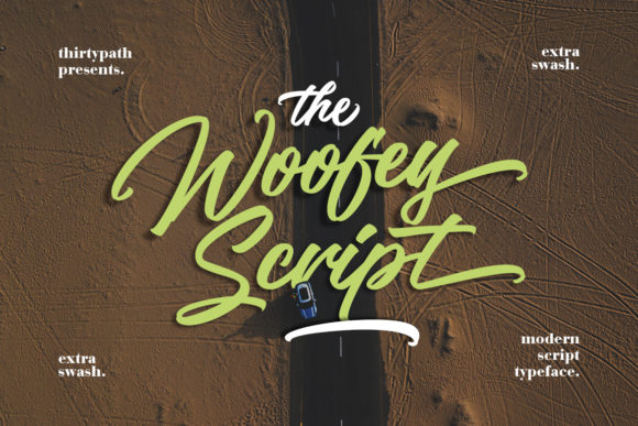 Download Free The Woofey Script Font By Thirtypath Creative Fabrica SVG Cut Files