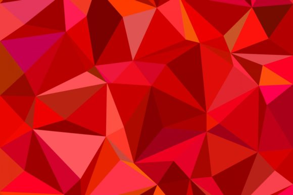 Download Free Triangle Mosaic Background Graphic By Davidzydd Creative Fabrica for Cricut Explore, Silhouette and other cutting machines.