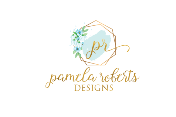 Print on Demand: Watercolor Geometric Logo Templates Graphic Logos By Blueberry Jam Design - Image 14