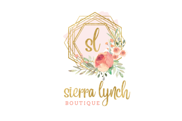 Print on Demand: Watercolor Geometric Logo Templates Graphic Logos By Blueberry Jam Design - Image 6