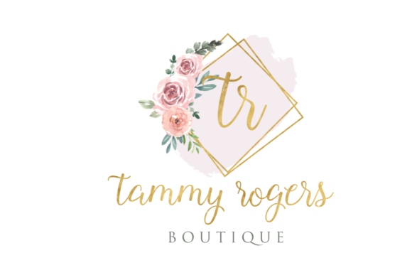Print on Demand: Watercolor Geometric Logo Templates Graphic Logos By Blueberry Jam Design - Image 7