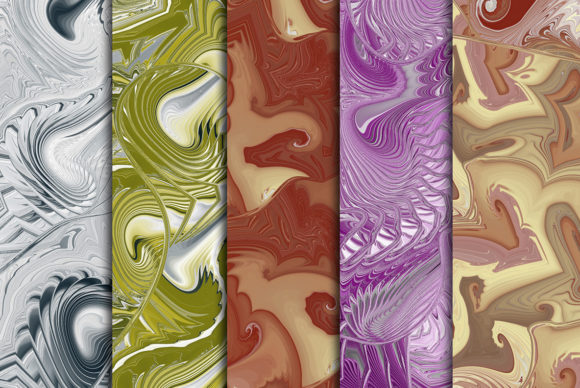 Download Free Wave Backgrounds 2 Graphic By Dotstudio Creative Fabrica for Cricut Explore, Silhouette and other cutting machines.
