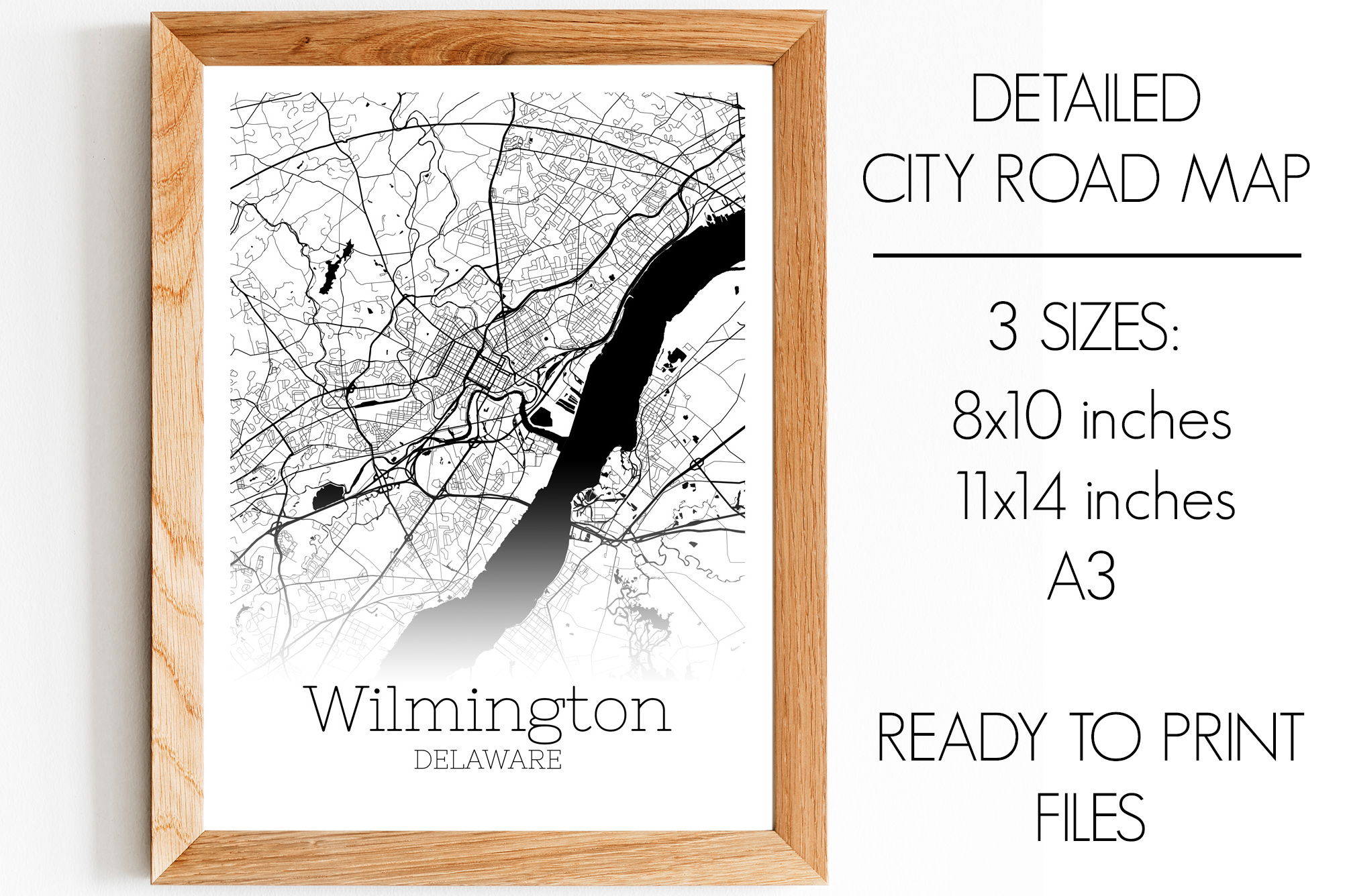 Download Free Wilmington Delaware City Map Graphic By Svgexpress Creative for Cricut Explore, Silhouette and other cutting machines.