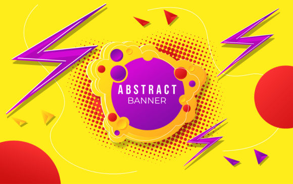 Download Free Abstract Background Design Sale Banner Graphic By Ngabeivector for Cricut Explore, Silhouette and other cutting machines.