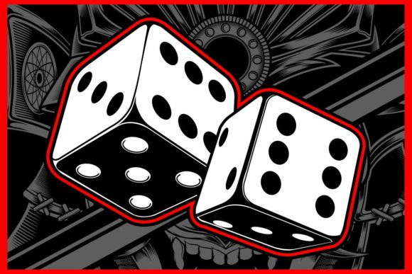 Dice Vector,Hand Drawing Graphic Illustrations By Epic.Graphic