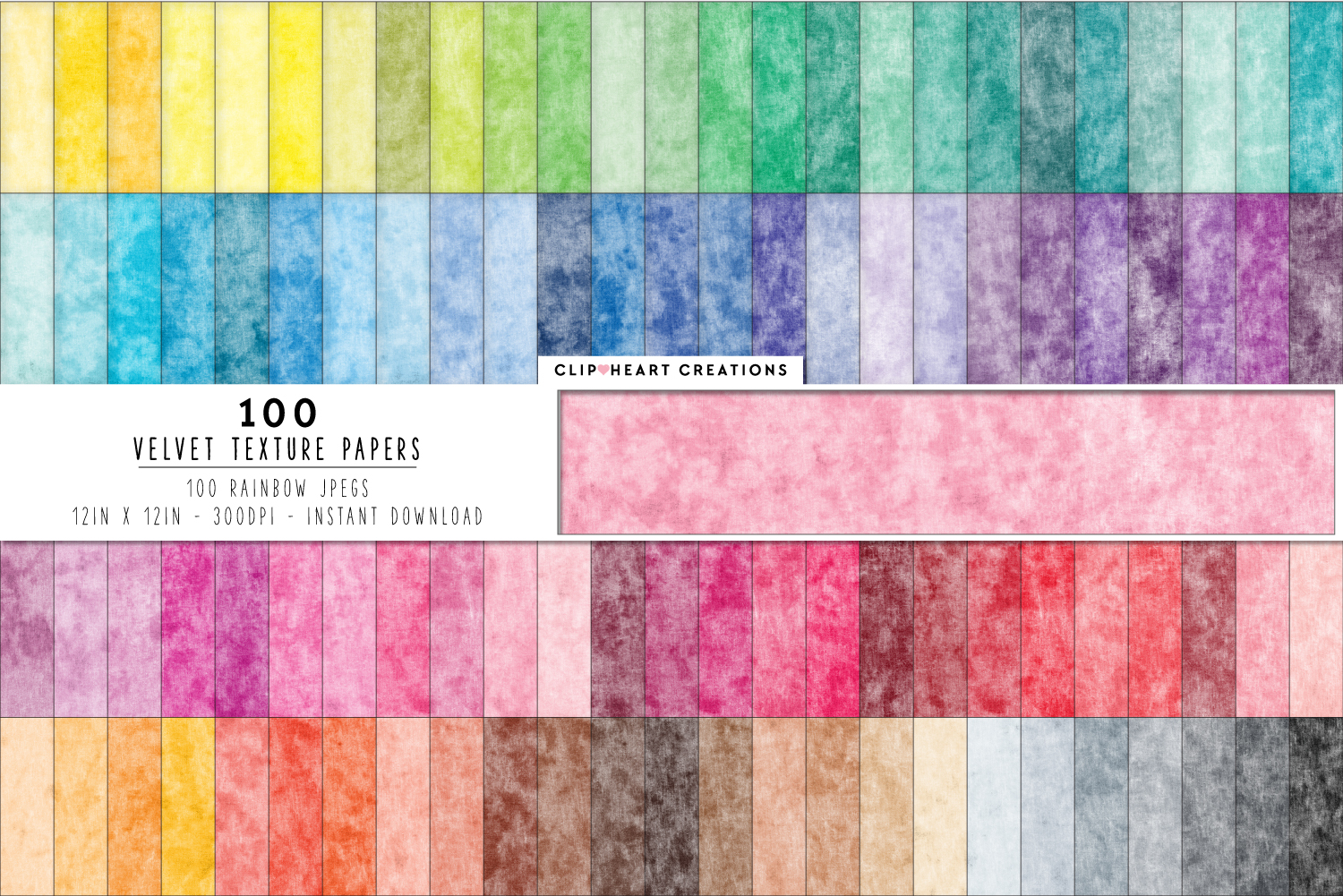 Download Free 100 Velvet Texture Digital Papers Graphic By Clipheartcreations for Cricut Explore, Silhouette and other cutting machines.