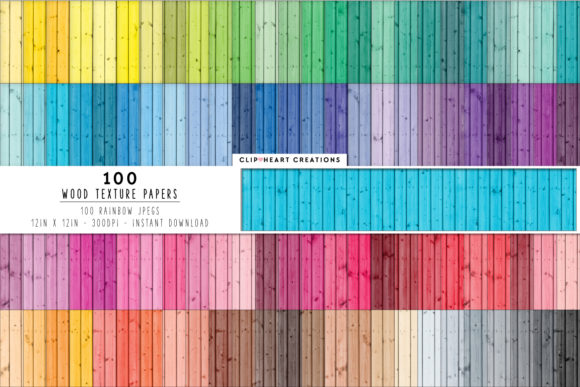 Download Free 100 Wood Texture Digital Paper Pack Graphic By for Cricut Explore, Silhouette and other cutting machines.