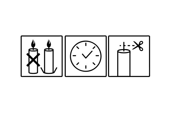 Download Free Candle Care Svg Cut File By Creative Fabrica Crafts Creative for Cricut Explore, Silhouette and other cutting machines.