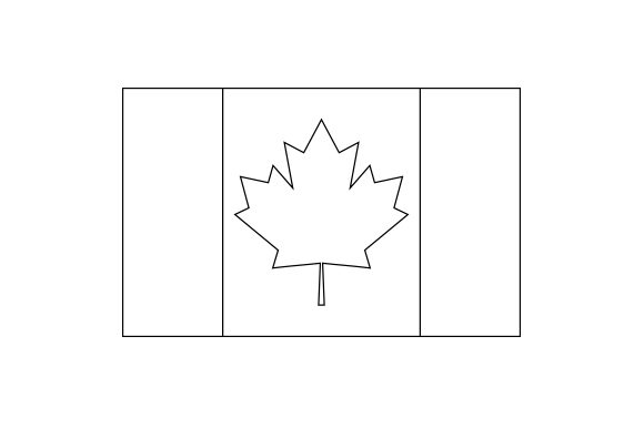 Canadian Flag Canada Craft Cut File By Creative Fabrica Crafts - Image 2
