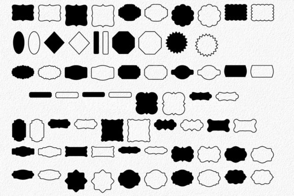 Print on Demand: 200 Tags and Labels Bundle Graphic Crafts By oldmarketdesigns - Image 5