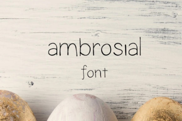 Ambrosial Font Free Download