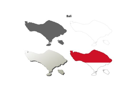 Download Free 1 Bali Boundary Designs Graphics SVG Cut Files
