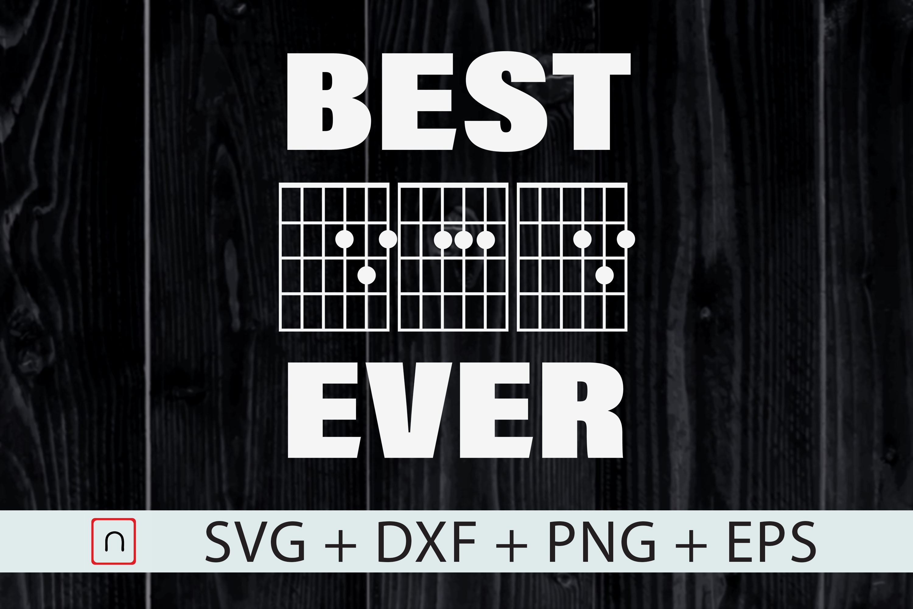 Download Free Best Dad Ever Music Guitar Musician Dad Grafico Por Novalia for Cricut Explore, Silhouette and other cutting machines.