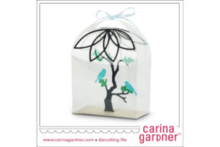 Birds in a Bottle Graphic 3D SVG By carina2