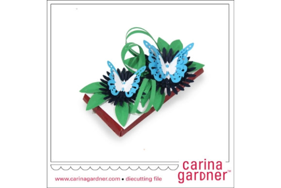 Blue Candy Bar Bouquet Graphic 3D SVG By carina2 - Image 1