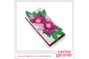 Buttterfly Candy Bar Bouquet Graphic 3D SVG By carina2