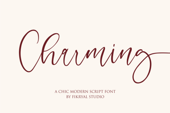 Download Free Emeria Font By Mfikryalif Creative Fabrica for Cricut Explore, Silhouette and other cutting machines.