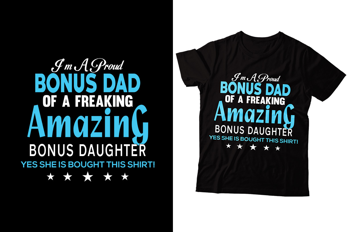 Download Free Dad Amazing T Shirt Design Graphic By Storm Brain Creative Fabrica for Cricut Explore, Silhouette and other cutting machines.