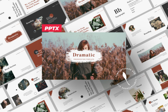 Dramatic Brand Powerpoint Graphic Free Download