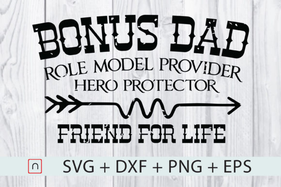 Print on Demand: Father's Day - Friend for Life  Graphic Print Templates By Novalia