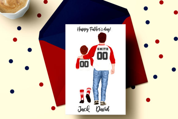 Download Free Father S Day Clipart Baseball Jersey Graphic By Lecoqdesign for Cricut Explore, Silhouette and other cutting machines.
