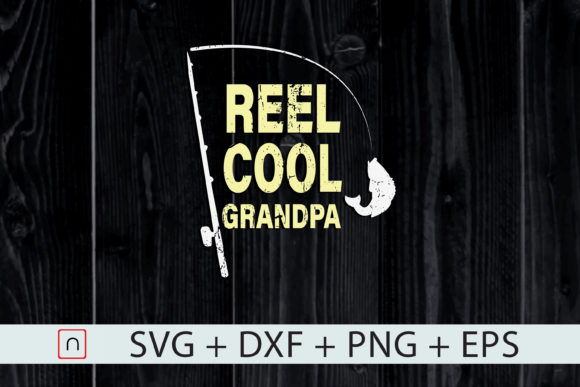 Download Free Fishing Grandpa Father S Day Gift Graphic By Novalia Creative for Cricut Explore, Silhouette and other cutting machines.