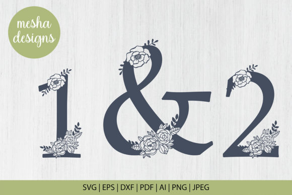 Download Free Floral Paper Cut Template Graphic By Diycuttingfiles Creative for Cricut Explore, Silhouette and other cutting machines.