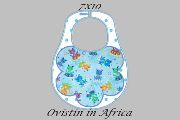 Download Free Floral Style Adorable Baby Bib Small Creative Fabrica for Cricut Explore, Silhouette and other cutting machines.