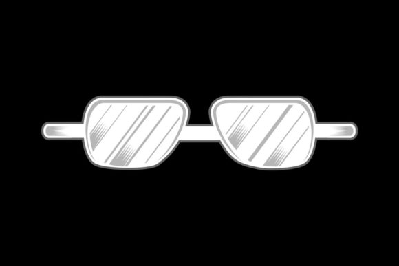 Glasses Isolated Graphic