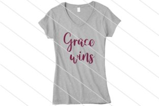 Download Free Grace Wins Graphic By Amy Anderson Designs Creative Fabrica SVG Cut Files