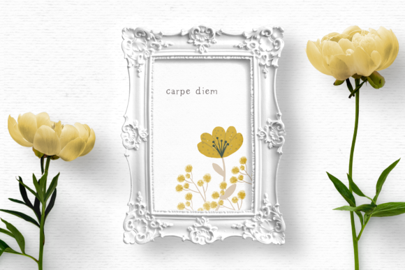 Download Free Hand Drawn Wildflower Clipart Graphic By Wallifyer Creative SVG Cut Files