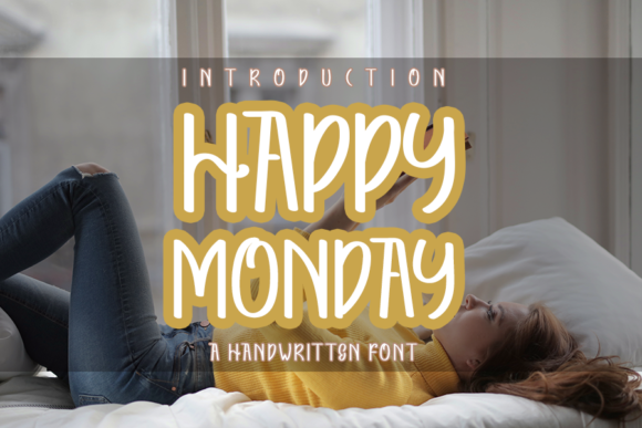Download Free Happy Monday Font By Inermedia Studio Creative Fabrica for Cricut Explore, Silhouette and other cutting machines.