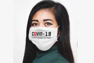 Medical Face Mask Mock Up Graphic Product Mockups By Vutura