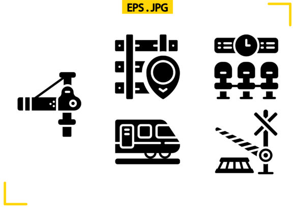 Download Free Railway Solid Graphic By Raraden655 Creative Fabrica for Cricut Explore, Silhouette and other cutting machines.