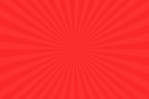 Red Abstract Sunburst Background Graphic Backgrounds By davidzydd