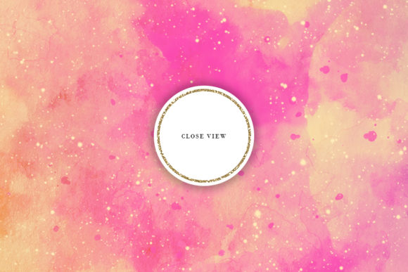 Print on Demand: Retro Space Watercolor Backgrounds Graphic Backgrounds By Sabina Leja - Image 3