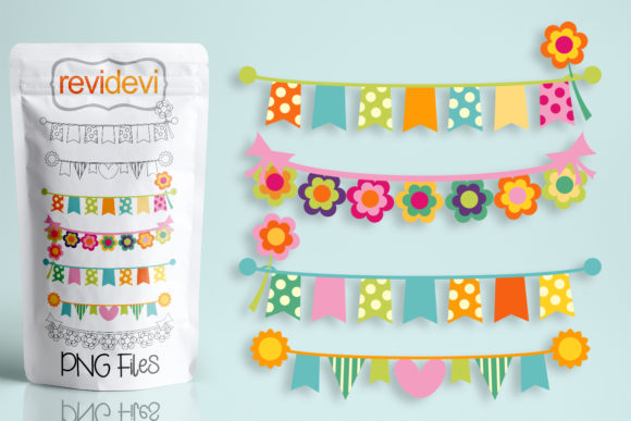 Print on Demand: Summer Pastel Banners Graphic Illustrations By Revidevi - Image 1