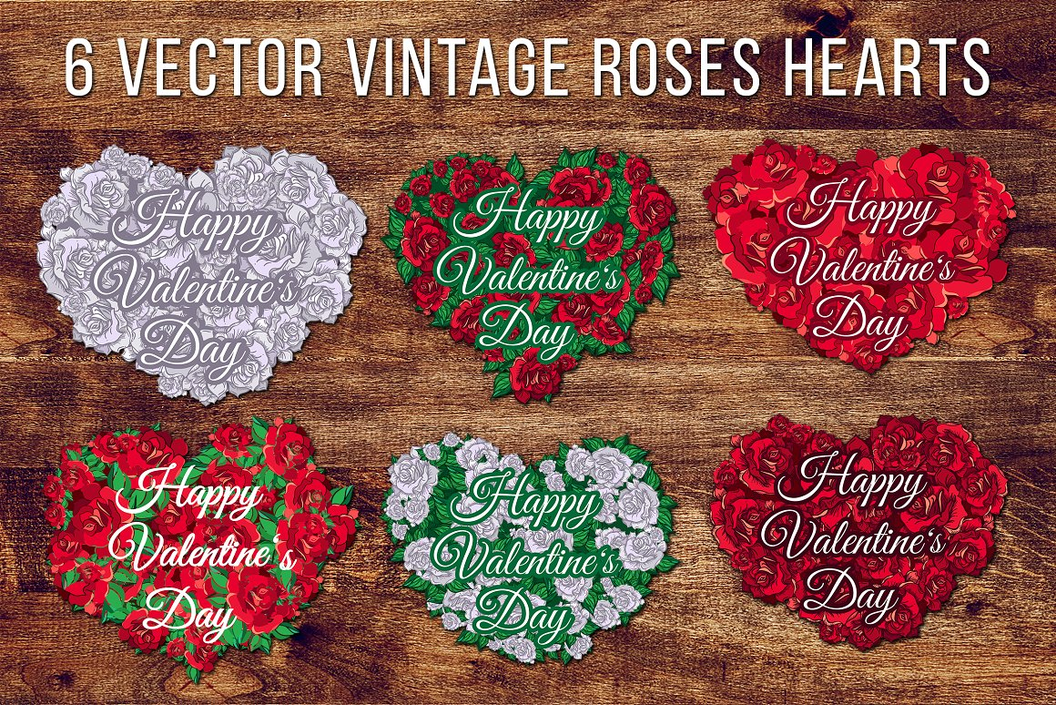 Valentine S Day Roses Hearts Graphic By Barsrsind Creative Fabrica
